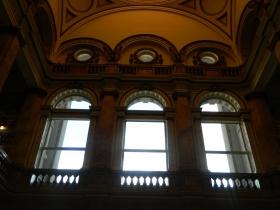 The Library's Rotunda room.