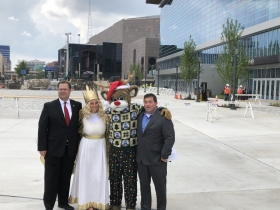 Tomkins, German Queen, Bango, and Peter Feigin