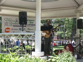 Roxie Beane at the Westown Farmer's Market