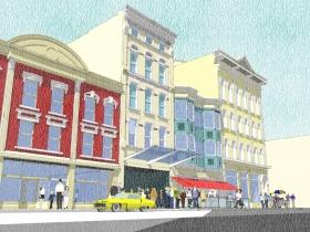 300-318 W. Juneau Ave. Preliminary Rendering