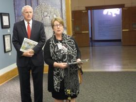 Library Director Paula Kiely