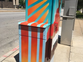 Utility Box Mural at 700 N. 6th St.