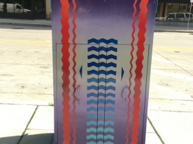 Utility Box Mural at 707 N. Plankinton Ave.