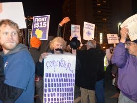 The GOP Debate Protests