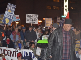The GOP Debate Protests