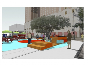 The Spot 4MKE - Renderings for Semi-Permanent Installation