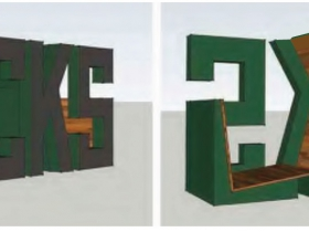 Bucks Sign Chair