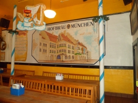 Back room in the Old German Beer Hall