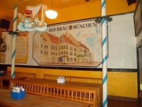Back room in the Old German Beer Hall