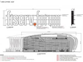 Fiserv Forum Signage