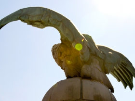 Eagles Atop the Central Library.