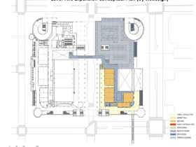 Convention Center Conceptual Expansion Plan - Level 2