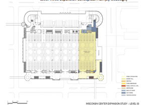 Convention Center Conceptual Expansion Plan - Level 3