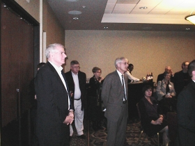 Mayor Barrett at a Tony Evers Campaign Event. Photo by Michael Horne.