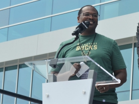 Council president Ashanti Hamilton