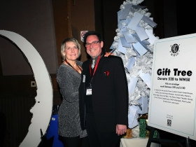 WMSE Volunteers, Barbara Rabiego and Will Hansen