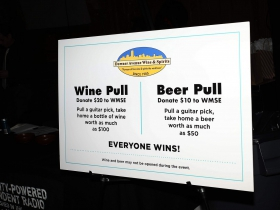 Silent Auction Wine and Beer Pull