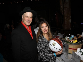 Eric Beaumont and Andrea Zehnder at the Chicago Jazz Orchestra's Big Band Cavalcade and Gala & Silent Auction