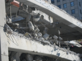 Photo Gallery: A Parking Structure's Slow Demolition