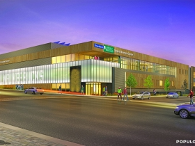 Froedtert & MCW Sports Science Center Rendering