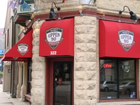 The front of Upper 90.