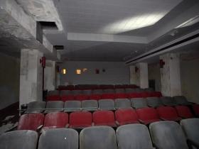 Grand Warner basement screening.