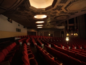 Grand Warner lower seating area.