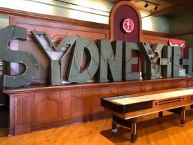 Sydney HIH Sign at Tavern at Turner Hall