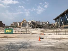 Bradley Center Demolition