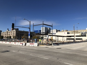 Cambria Hotel and Suites Construction