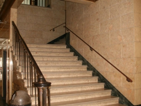 Lobby Stairs at Century Building