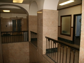 Second floor at the Century Building