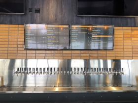 Beer Menu at Good City Brewing Downtown