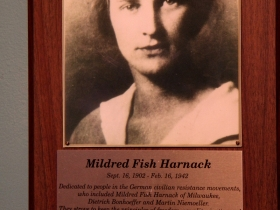 Mildred Fish Harnack.