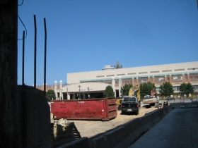 View of the Convention Center.