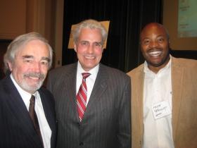 Donovan Rypkema, Ald. Bob Bauman, and Keith Stanley.
