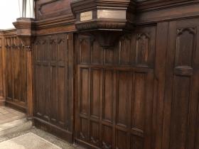 Hidden Door in the Chancel