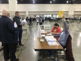 Trump Observer Objection Triggers Signal for Poll Worker Support