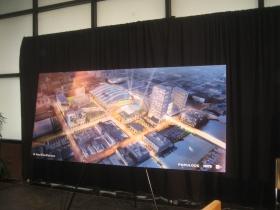 Arena rendering.