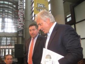 Peter Feigin and Michael Fascitelli.