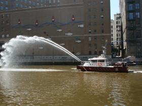 Fireboat Salute