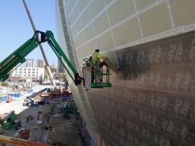 Working on the New Bucks Arena