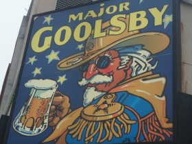 Major Goolsby sign.