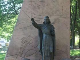 Marquette statue