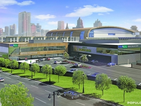 McKinley Health Center Rendering