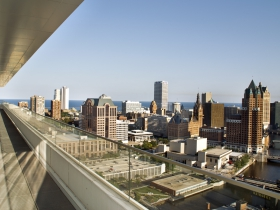 View from The Moderne's signature penthouse.