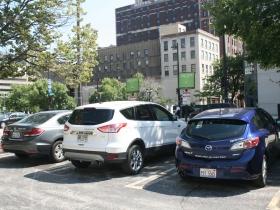 ZipCars Along Wells St. in Westown