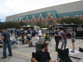 Tailgaters and Food Trucks