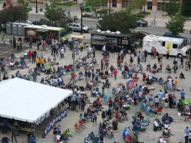Block Party from Above