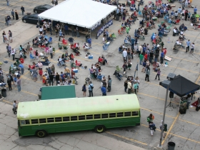 The Bus and Party Goers